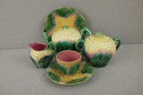 ETRUSCAN Cauliflower Lot Of 5 Pieces - Teapot, Sug
