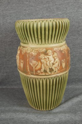 Roseville Donatello Vase, 11 3/4""