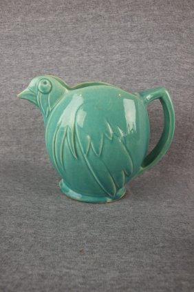 Mccoy Pottery Chick Pitcher Lot 546