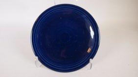"Fiesta Post 86 Salesman Sample 6 1/2"" Cobalt Plate With"
