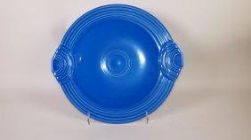 Fiesta Post 86 Sapphire Cake Plate
