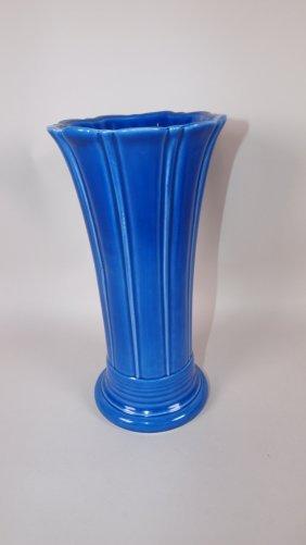 Fiesta Post 86 Sapphire Medium Vase