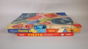 Fiesta Lot Of 3 Reference Books