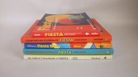 Fiesta Lot Of 5 Reference Books