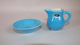 Fiesta Harlequin Turquoise Individual Creamer With 15