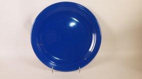 """Fiesta 13"""" Chop Plate, Cobalt"""