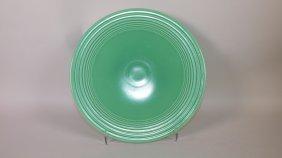 Fiesta Cake Plate, Green, Rare