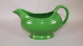 Fiesta Sauce Boat, Medium Green