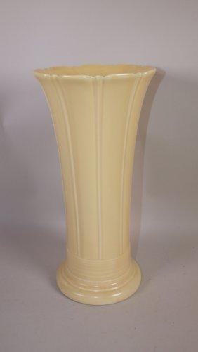"Fiesta 12"" Flower Vase, Ivory"