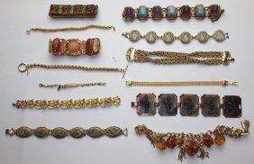 Lot Of 13 Bracelets