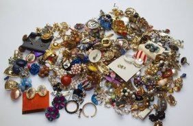 150 +/- Pair Of Earrings, Many Name Brands