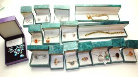 Suzanne Somers Lot Of Rings, Earrings, Bracelets,
