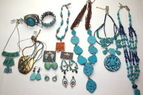 Chico Lot Of Turquoise Jewelry