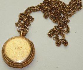 Hampden Hunters Case Pocket Watch, Molly Stark With