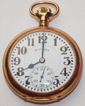 Illinois 21j, 16s, Pocket Watch, 6 Adj