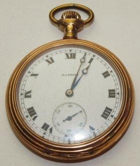 Illinois O.f. Pocket Watch, 16s, 17j