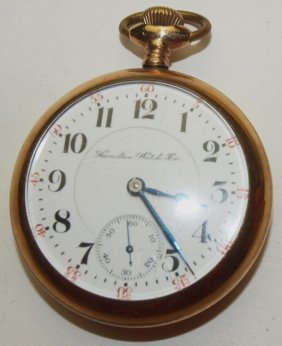 Hamilton O.f. Pocket Watch, 21j, 16s