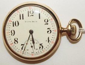 South Bend 204, 15j, 16s, O.f. Pocket Watch With South