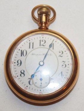 Hampden Open Face Pocket Watch, 21j