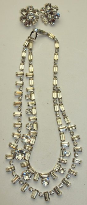 Eisenberg Necklace And Earring Set