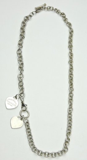 Tiffany & Co. Sterling Silver Neclace