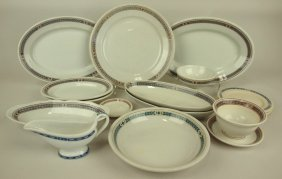 Railroad Dining Car China, Pennsylvania Railroad Lot 16