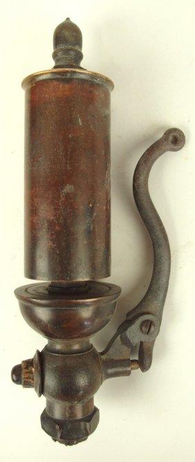 "Brass Steam Railroad Train Whistle, 12""l, 2 1/2""d"