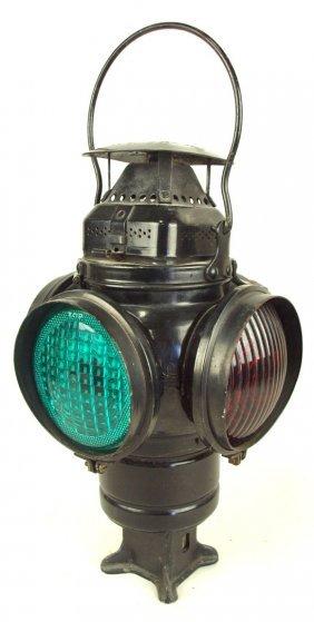 Adlake Railroad 4 Way Lantern