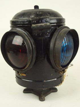 Dressel Railroad 4 Way Switch Light