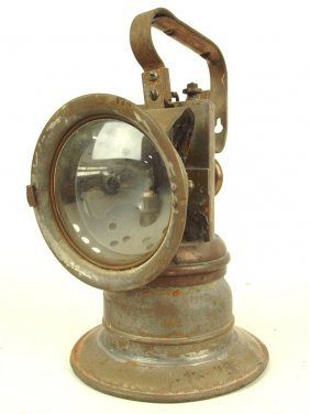 Railroad Carbide Lantern Nyc&stl Rr, By National