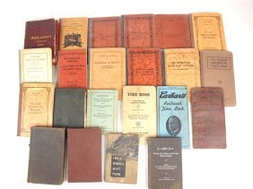 Lot Of Assorted Railroad Manuals And Books