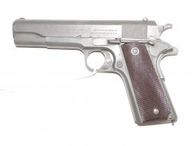 Colt Us Army Issue 1911 .45 Caliber Pistol, Excellent