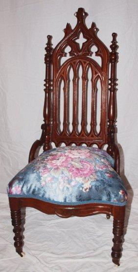 Walnut Jacobian Side Chair