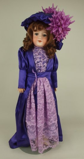 Armond Marseille (a&m) 390 Bisque Head Doll With Open