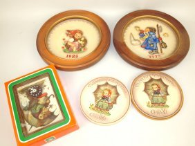 Hummel Lot: 1972, 1985, & 1987 Annual Plates, 2-1978