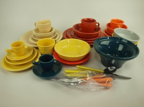 Fiesta Post 86 Lot Of 23 Assorted Pieces