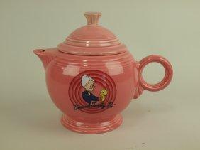 "Fiesta Post 86 Looney Tunes ""granny"" Teapot"