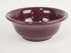 Fiesta Post 86 Rare Raspberry Large Mixing Bowl, Only