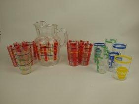 Fiesta Lot Of G0-along Glassware