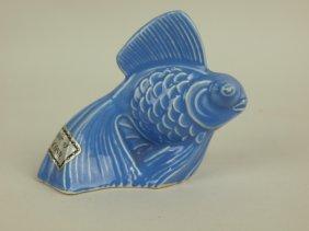 Fiesta Harlequin Mauve Blue Fish