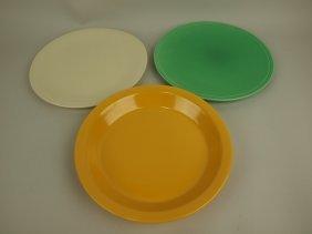 Fiesta Kitchen Kraft Group: White Cake Plate, Green