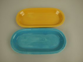 Fiesta Utility Tray Group: Turquoise & Yellow