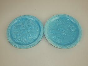 Fiesta 1939 New York World's Fair Pair Of Turquoie