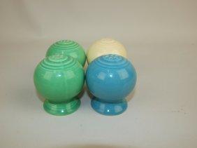 Fiesta Salt & Pepper Group: Green And 2 Singles