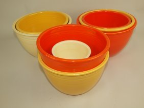 Mixing Bowl Lot Of 8, Mised Colors & Sizes, Various