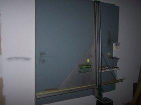 2034 Fletcher Wall Mounted Glass Cutter Lot 2034