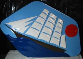 """PAN AM """"Maid Of The Seas"""" Plaque"""