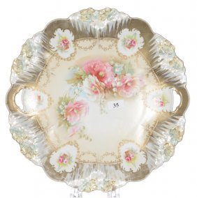 """11"""" Rsp Icicle Mold Cake Plate"""