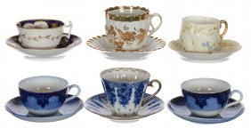 (6) Cups And Saucers