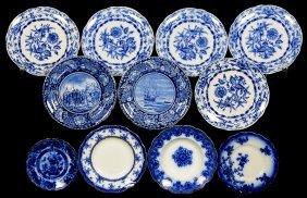 (11) Flow Blue Plates